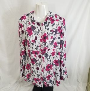 Mooncity Blouse women's Large